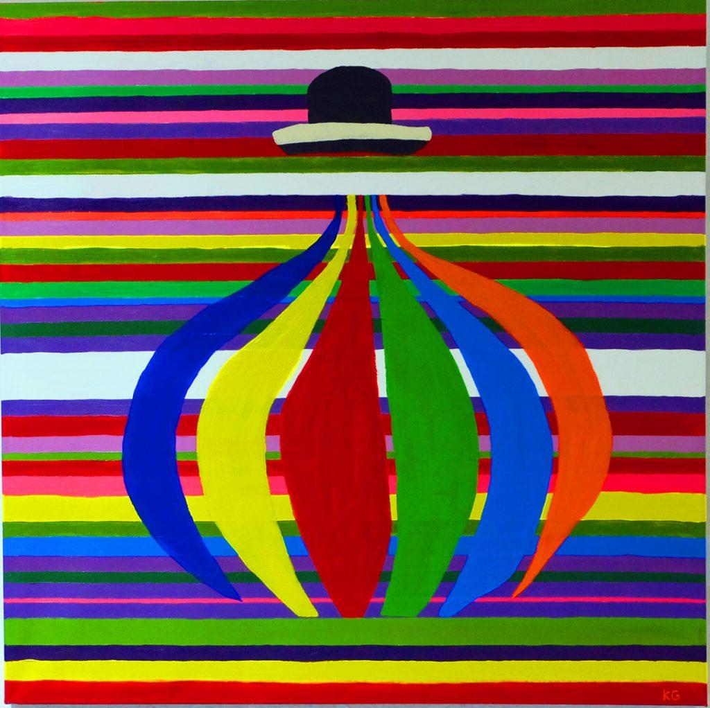 Zeitgenössische Kunst Stuttgart Karlo Grados La Pachamama Ölmalerei Kunst