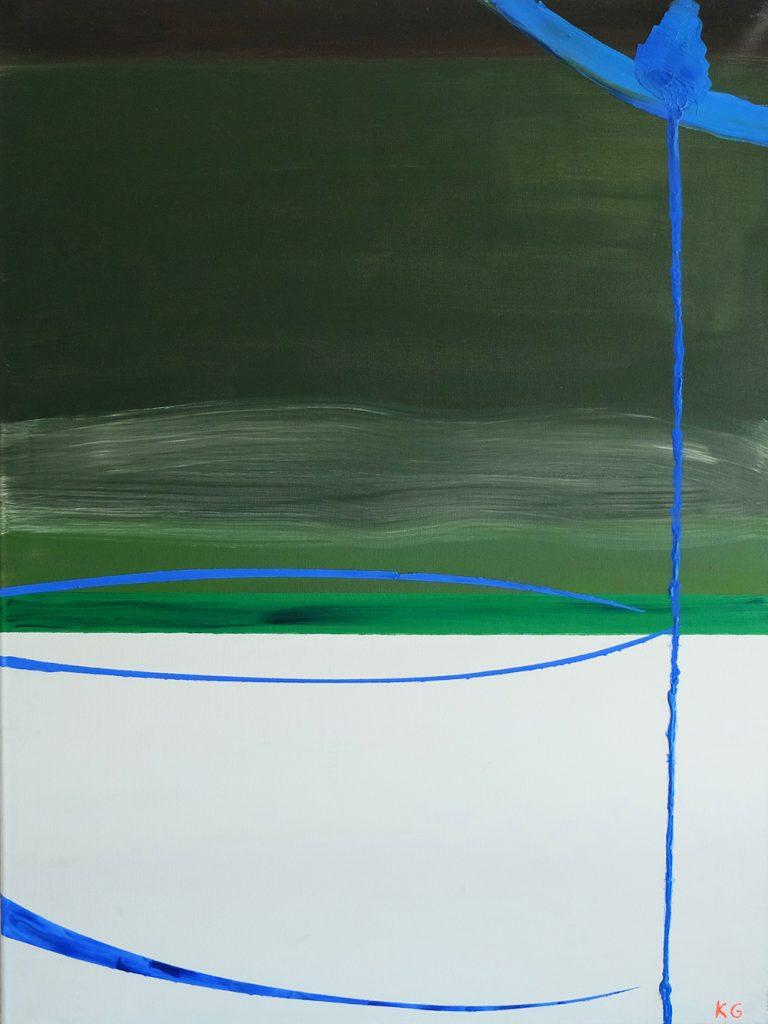 Contemporary art Stuttgart Karlo Grados oil painting modern art abstract  art work