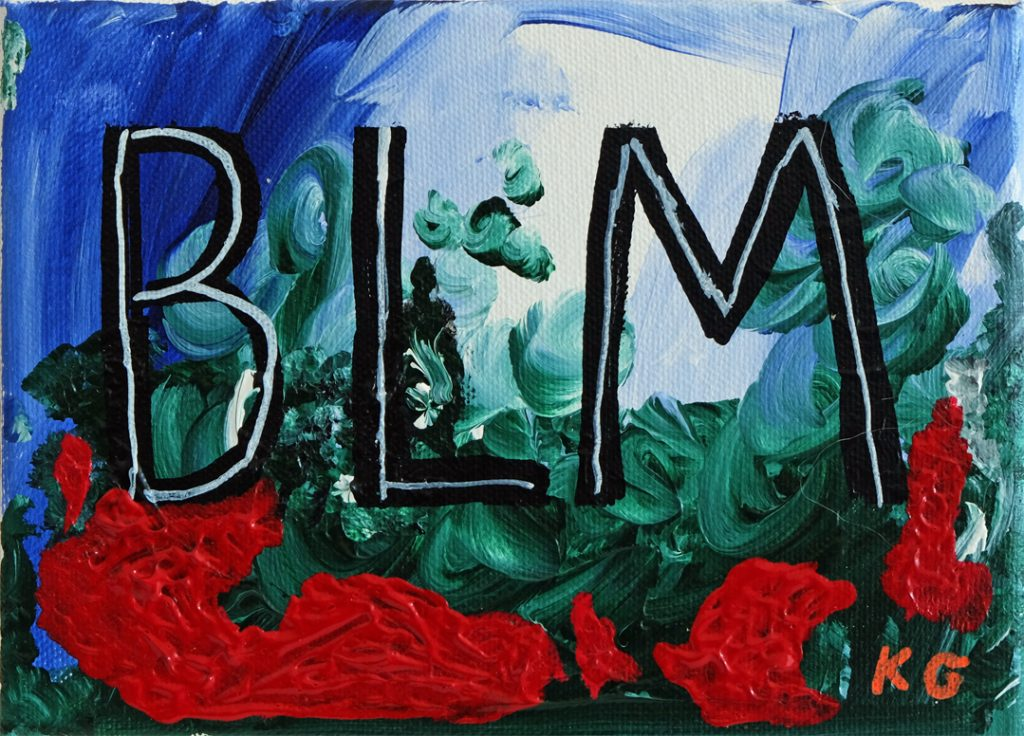 BLM Contemporary art germany Karlo Grados Stuttgart BLM1