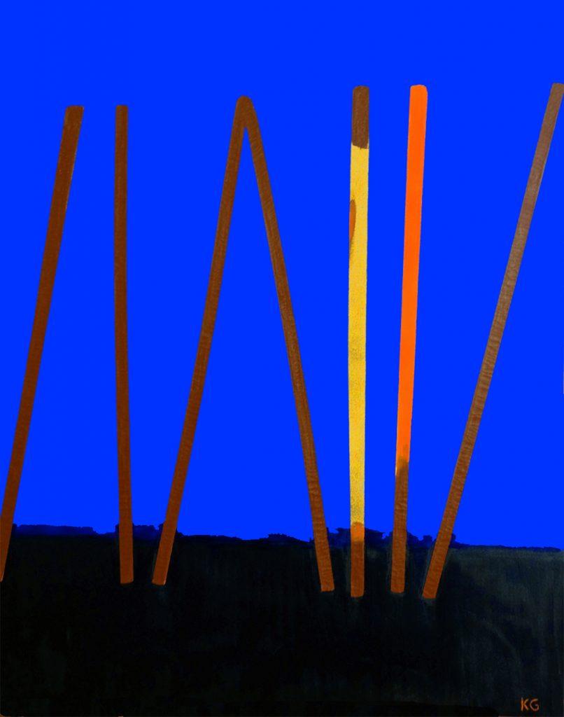 Zeitgenössische Kunst Stuttgart Karlo Grados modern art ölmalerei24